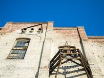 Olvera Street Old Building - Los Angeles, LA, California, CA. USA Royalty Free Stock Images