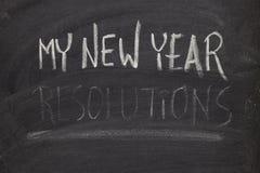 Olvidando las resoluciones del Año Nuevo - concepto Fotos de archivo libres de regalías