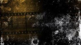 OlVintage bakgrund Gammal filmnedräkning, stock video