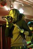Olya Markes, solist van Alai Oli Stock Foto's