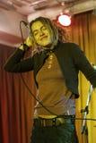 Olya Markes, solist van Alai Oli Royalty-vrije Stock Fotografie
