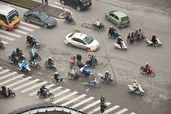 Olycka på vägen Royaltyfri Bild