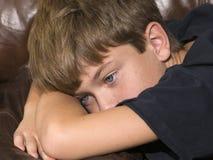 olycklig boy2 Royaltyfria Bilder