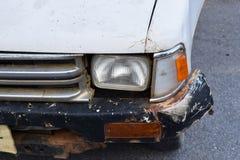 Olycksbil arkivfoto
