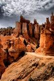 Olycksbringarna av Bryce Canyon Arkivbilder