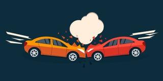Olycksvägläge stock illustrationer