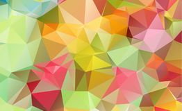 Olygonal abstract background consisting of triangles blue color. Eps . 10 vector illustration