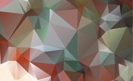 Olygonal abstract background consisting of triangles blue color. Eps.10 Royalty Free Illustration