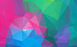 Olygonal abstract background consisting of triangles blue color. Eps.10 vector illustration
