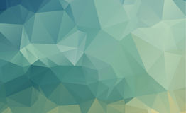 Olygonal abstract background consisting of triangles blue color Royalty Free Stock Images