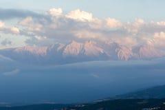 Olymp-Berg in Griechenland lizenzfreie stockbilder