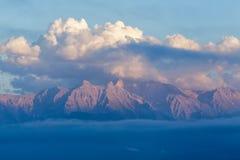 Olymp-Berg in Griechenland stockfotografie