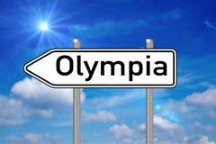 Olympia Image libre de droits