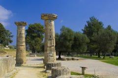 Olympia Acropolis Stock Image