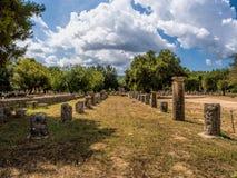 Olympia antica Fotografia Stock Libera da Diritti