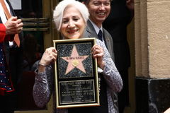 Olympia Dukakis Stock Photo