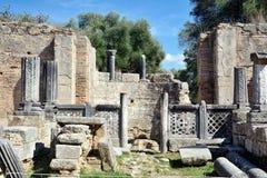 Olympia en Grecia Fotos de archivo libres de regalías