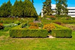 Olympia gedaalde tuin Royalty-vrije Stock Foto's