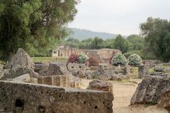 Olympia, Greece Olympics site Stock Photography
