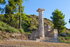 Olympia Greece ruins Stock Images