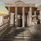 Olympia - A greek fantasy background Royalty Free Stock Photo