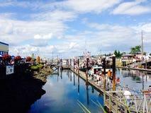 Olympia Harbor Royaltyfri Foto
