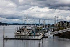 Olympia Harbor Stock Image