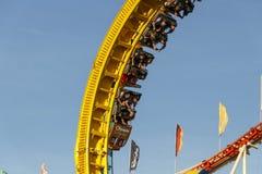 Olympia Looping Roller-Küstenmotorschifffahrt bei Oktoberfest in München, GE Lizenzfreies Stockbild