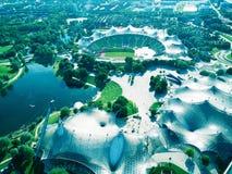 Olympia Park, München lizenzfreie stockfotografie