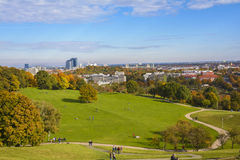 Olympia park in Munich, Bavaria, Germany Stock Image