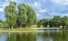 Olympia park Munich, Germany Stock Photos