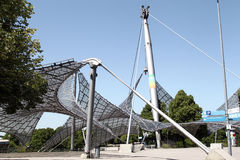 Olympia Park at  Munich. Tensile Structure at Olympia Park at Munich, Germany Royalty Free Stock Images