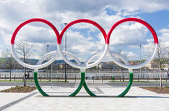 Olympia parkerar, Budapest, Ungern royaltyfri bild