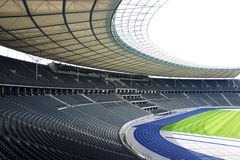 Olympia Stadion Berlin Immagine Stock
