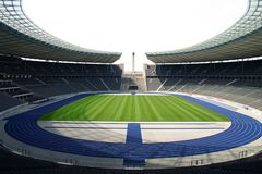 Olympia Stadion Berlin Fotografía de archivo