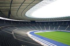 Olympiastadion Berlin. Deutschland, Spielfeld Stock Photography