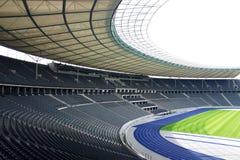 Olympiastadion Berlin. Deutschland, Tribüne Stock Image