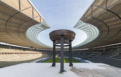 Olympia Stadium, a Berlino, la Germania Immagine Stock