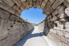 Olympia Stadium Greece Royalty Free Stock Photos