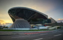 Olympia Stadium Munich stock fotografie