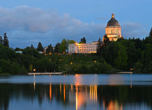 Olympia State Capitol Royalty Free Stock Photo