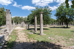 Olympia Temple Greece Stock Photography
