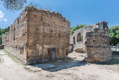 Olympia Temple Greece Royalty Free Stock Photography