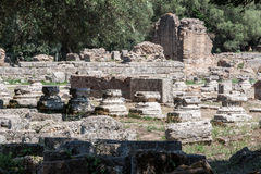 Olympia Temple Greece Stock Image