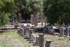 Olympia Temple Greece Royalty Free Stock Images