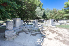 Olympia Temple Greece Stock Images