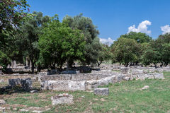 Olympia Temple Greece Royalty Free Stock Photos