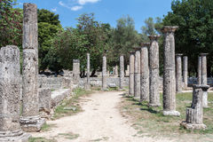 Olympia Temple Greece Royalty Free Stock Photo