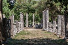 Olympia Temple Greece Royalty Free Stock Photo
