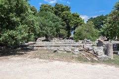 Olympia Temple Greece Stock Photos